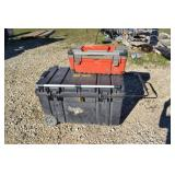 (2) PLASTIC TOOL BOXES WITH MISC. TOOLS