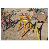(2) PIPE ROLLING STANDS