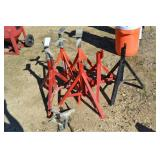 (6) RIGID PIPE STANDS