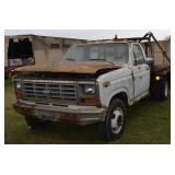 1986 FORD DUALLY WINCH TRUCK
