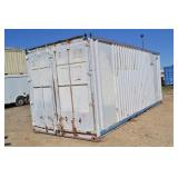 20 FT. STORAGE CONTAINER WITH ELETRICAL