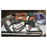 PASLODE BATTERY OPERATED DRILL, PORTER CABL BRAID