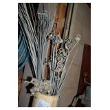 ASSORTED GALVANIZED CABLES/ WIRES