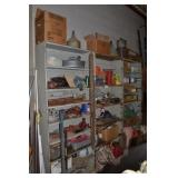 SHELVES WITH CONTENTS