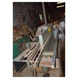 HOLZ HER EDGEBANDER WITH ROLLS OF EDGE TAPE AND