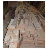 LARGE LOT OF WOOD ASSORTED SIZES AND STYLES (WOOD