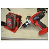 """CRAFTSMAN 1/2"""" 20 VOLT BATTERY DRILL WITH 1 BATTER"""