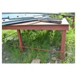 8 X 10 METAL TABLE (CONTENTS NOT INCLUDED)