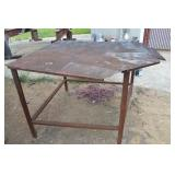 SMALL METAL TABLE