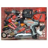CRAFTSMAN BATTERY OPERATED DRILL, MILWAUKEE BATTER