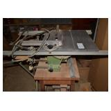 1NCA INJECTAAG TABLE SAW WITH HORIZONAL DRILL PRES