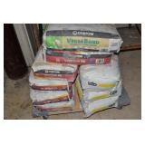 9 BAGS OF LEVEL QUICK AND MORTAR