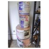 4 ROLLS PINK PANTHER INSULATION ROLLS