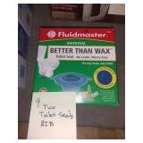 Fluid Master Toilet Seats, (2), Nib