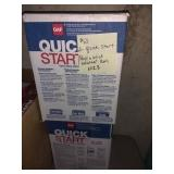2 Quick Start Peel & Stick Starter Rolls, Nib