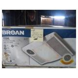Broan Ventilation Fan With Light & Heater
