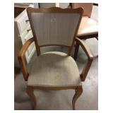 Arm Chair With Wear & Staining
