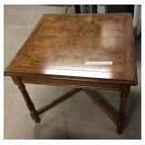 End Table With Wear, 27x27x22