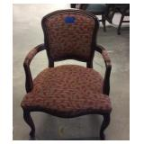 Occasional Arm Chair With Wear
