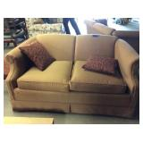 Love Seat & Pillows, Some Wear