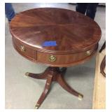 Duncan Phyfe End Table With Wear
