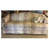 Sofa & Pillows With Wear