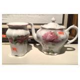 Ceramic Vase And Tea Pot