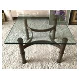 24x24 Glass Top Table
