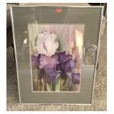 Artist Signed Framed Print 16 X 20
