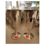 2 Silver Plate Goblets