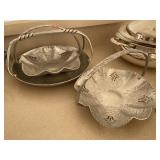 3 Aluminum Handled Dishes