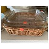 Pyrex Baking Dish With Basket, Baking Dish