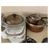 Glass Baking Dishes And Pots