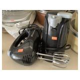 Hand Mixer And Can Opener