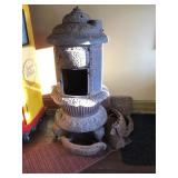 Round Oak parlor stove