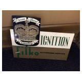 Filko ignition Flange Sign 16x13 scratches