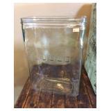 Gould Glass Battery Jar 14x5x9 1/2