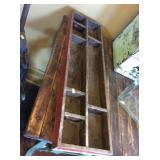 Wood tray 8x29x2