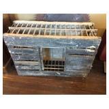 Wood chicken crate 35x24x13