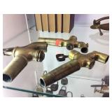 Three Brass Barrel valves with keys