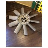 Magnesium fan blade