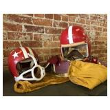 Chuck Justice Football pants, pad and Helmet and