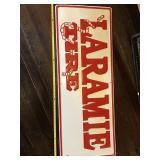 Laramie Tire sign