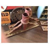 Cast Iron brackets 16x33x5