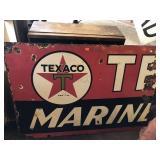 Texaco sign 36 1/2x25 1/2