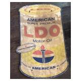 Wood LDO oil sign 28x16