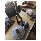 Bottle capper, glass insulator and oil lamp