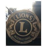 Lions sign