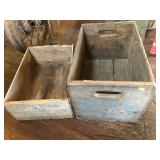 Toppy Brand Raisin crate and Piel