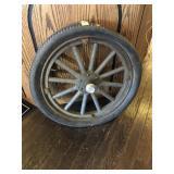 Wood spoke wheel for Model T